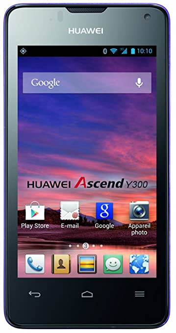 2315 opinioni per Huawei Ascend Y300 Smartphone Touch, Fotocamera da 5 Megapixel, Wi-Fi, Lilla