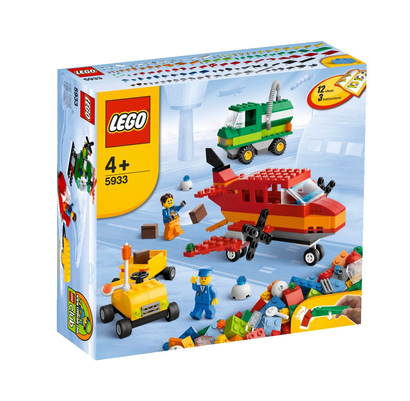 Lego Bricks More 5933 Airport Building Set Amazon Toys