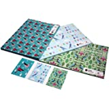 Bird Bundle Eco Friendly Recycled Birthday Gift Wrap Wrapping Paper Set by Re-wrapped (3 Sheets/3 Tags)