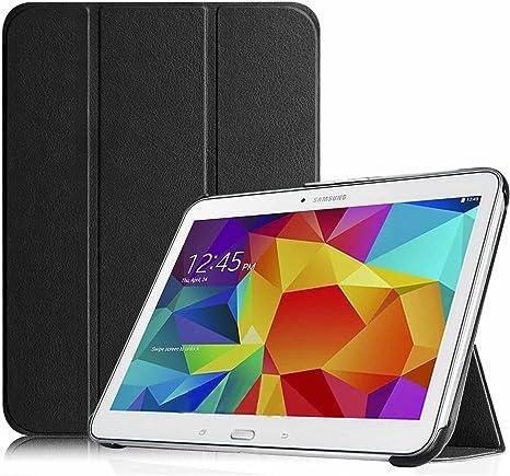 custodia tablet 10.1 samsung originale galaxy tab4 nera