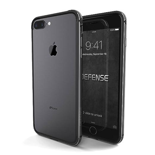 X-Doria Defense Edge Series - Aluminum & TPU Frame, Bumper Case for Apple iPhone 7 Plus - Space Grey