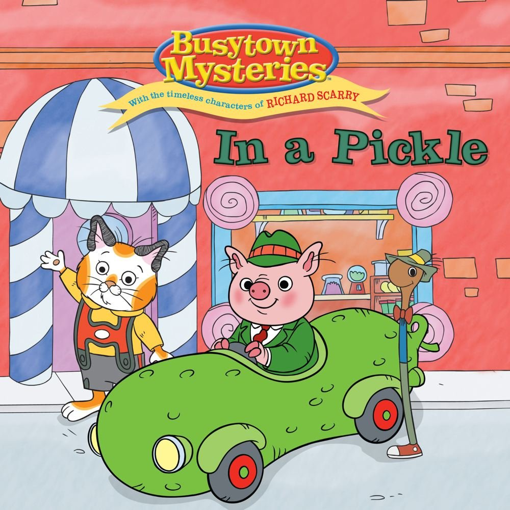 Read Online In a Pickle (Busytown Mysteries) pdf epub