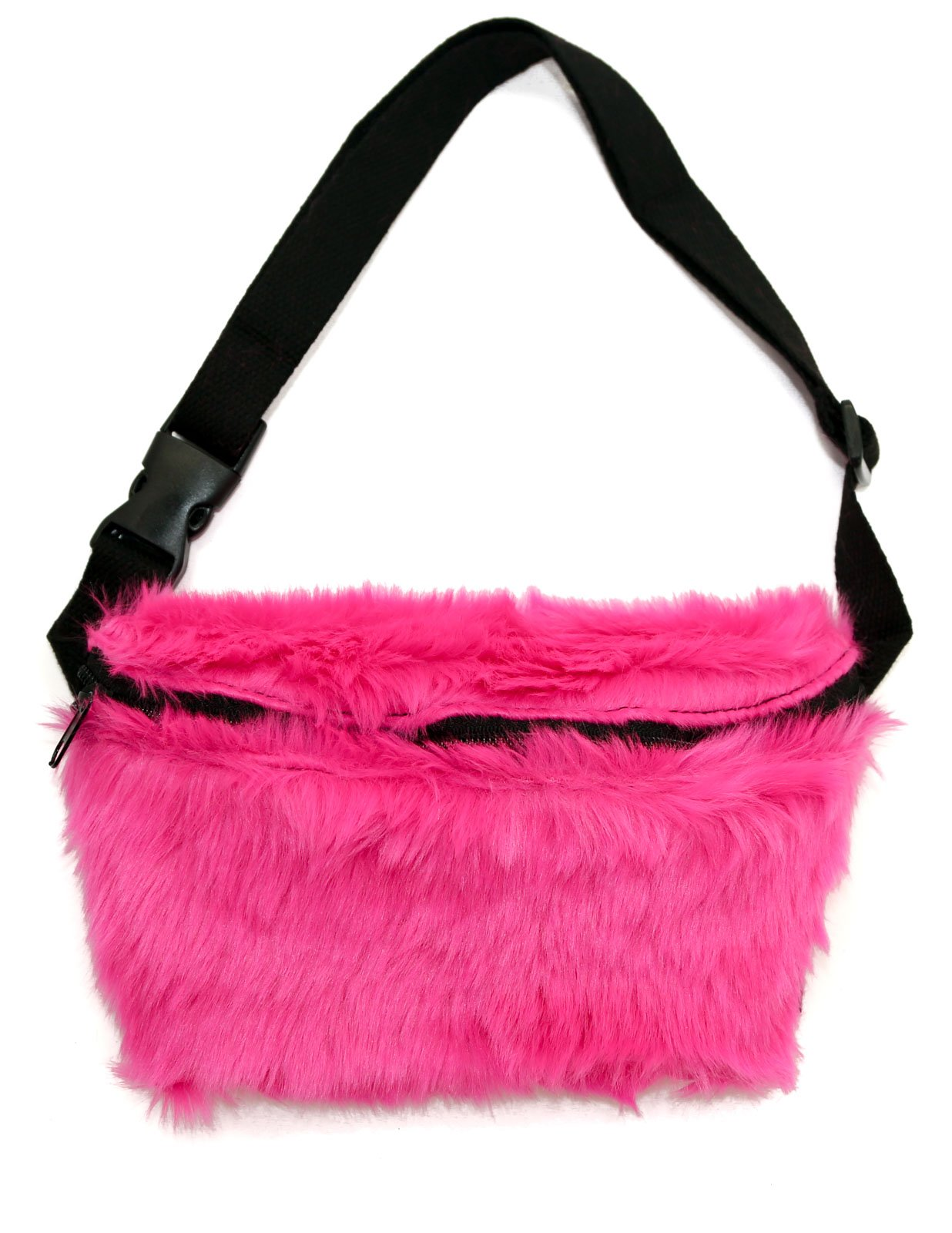 Fydelity - Fanny Pack: SHAGGY Neon Pink