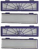 BaodeLi 4-Pack High Performance Filters Accessories for All Neato Botvac Robotics 70e 75 80 85 & D Series D75 D80 D85…