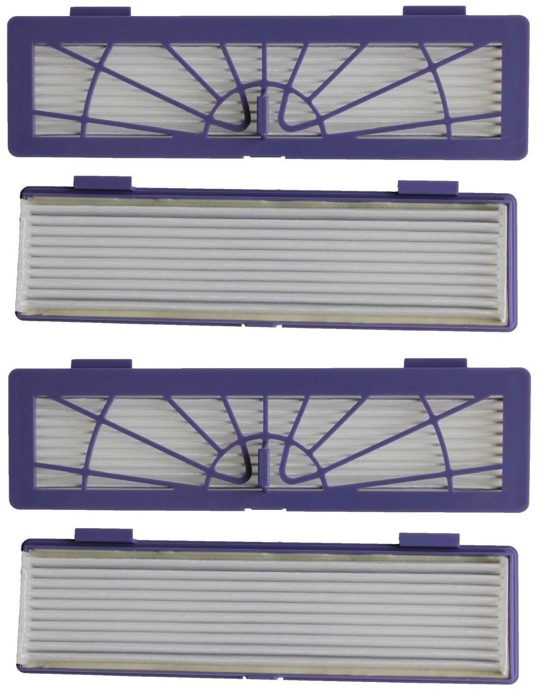 4 filtros para Neato Botvac 70e 75 80 85 Connected D3 D4 D5