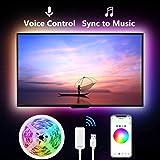 Gosund Tira Led Wifi USB para TV/Gaming, Sincronizar con Música, Compatir con Alexa/Google, Luces LED RGB Inteligente…