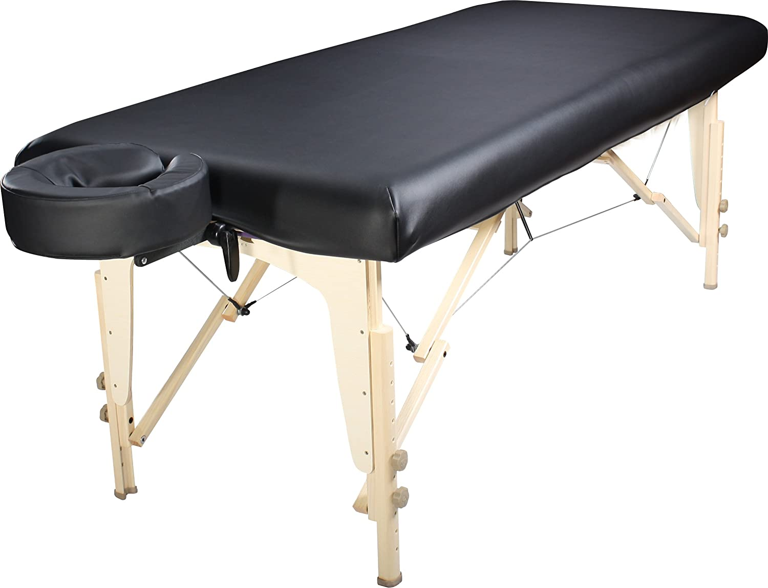 Amazon.com: Master Massage Universal Fabric Fitted PU Vinyl Leather  Protection Cover For Massage Tables: Health U0026 Personal Care