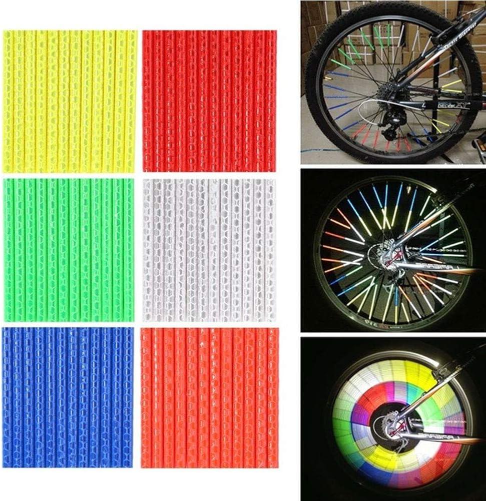 FIXIE MTB ANY BIKE Wheel Spoke Reflectors Orange NOS