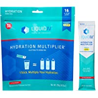Liquid I.V. Hydration Multiplier - Strawberry - Hydration Powder Packets | Electrolyte Supplement Drink Mix | Low Sugar…