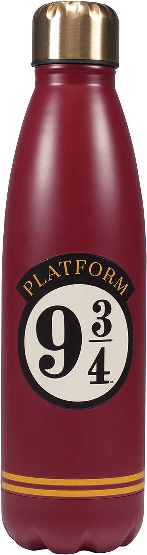 Half Moon Bay Botella de Agua, Multicolor, Talla única, WTRBHP18, Harry Potter 9 3/4