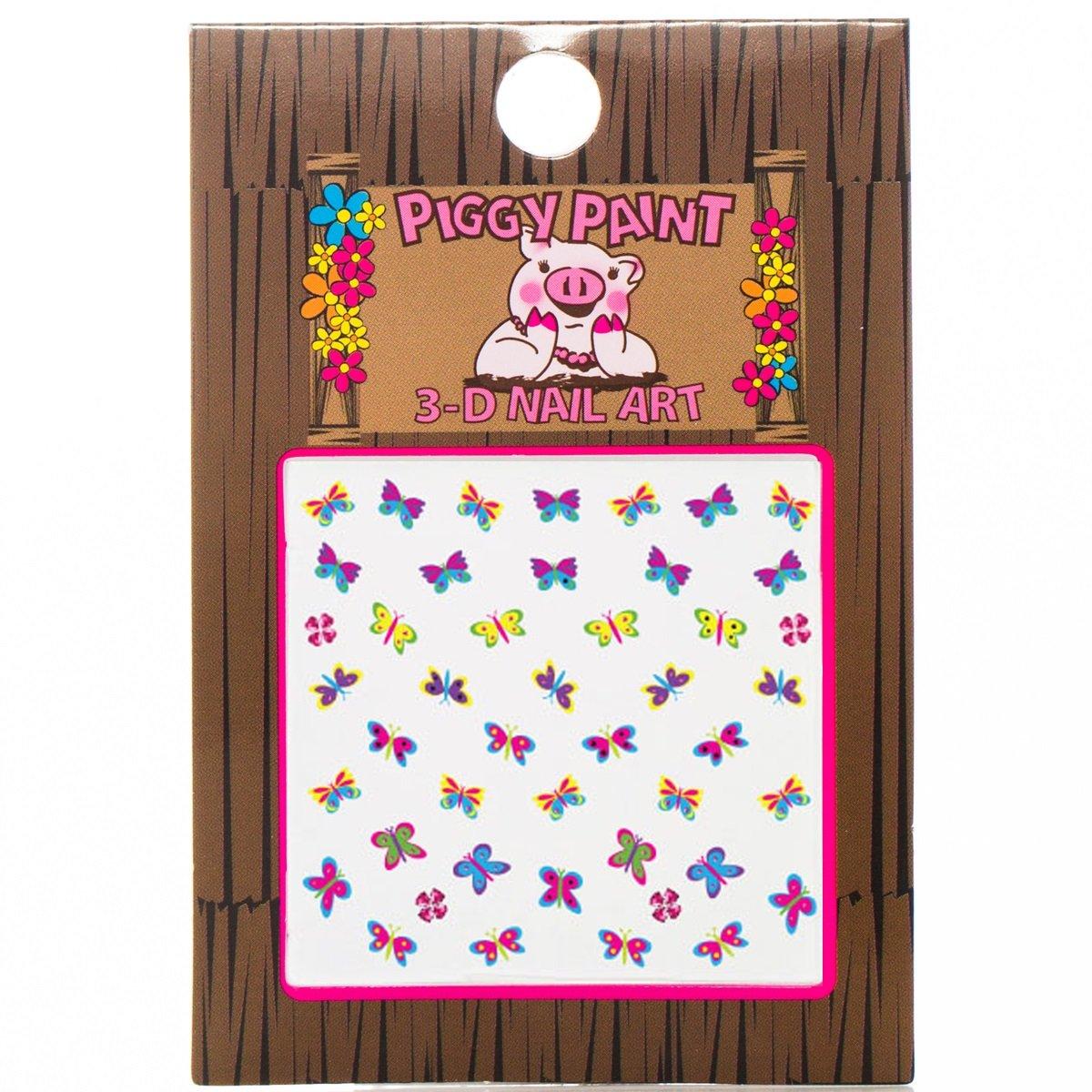 Piggy Paint Butterfly Nail Art, 1 Count 816884011977