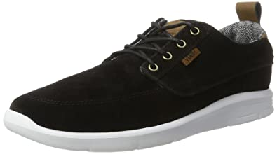 e73ba92846fc Vans Men s Ua Brigata Lite Low-Top Sneakers  Amazon.co.uk  Shoes   Bags