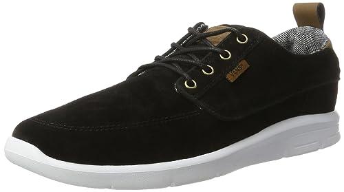 Vans Brigata Lite (S L) black white  Amazon.es  Zapatos y complementos 6b5cb7978b2
