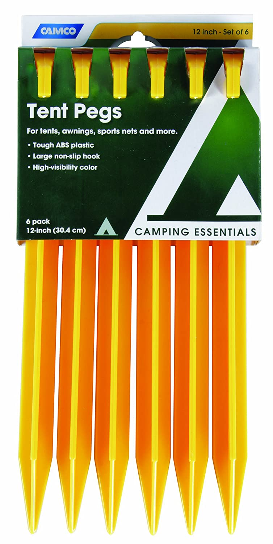 Amazon.com  Camco 51043 ABS Tent Pegs c9b9df7c185