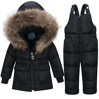 d1e847c4a42d Amazon.com  JELEUON Baby Girls and Boys Winter Warm Hooded Zipper ...