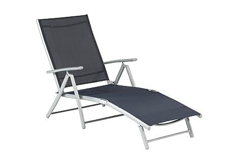Sedia A Sdraio Tessuto : Sedia a sdraio lettino prendisole sdraio alluminio tessuto colori