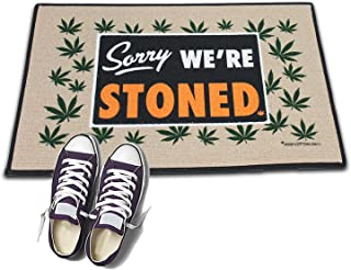 product image for HIGH COTTON Welcome Doormat -Sorry We're Stoned