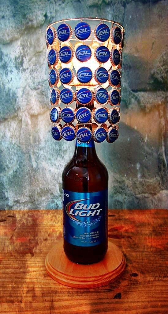 Amazoncom Bud Light 40 Oz Bottle Lamp