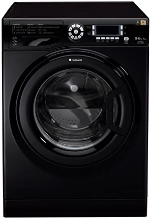 Hotpoint WDUD 9640K Independiente Carga frontal A Negro lavadora ...