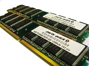 2GB 2 X 1GB PC3200 400MHz 184 pin DDR SDRAM Non-ECC DIMM Desktop Memory for Dell Dimension 3000 (PARTS-QUICK BRAND)