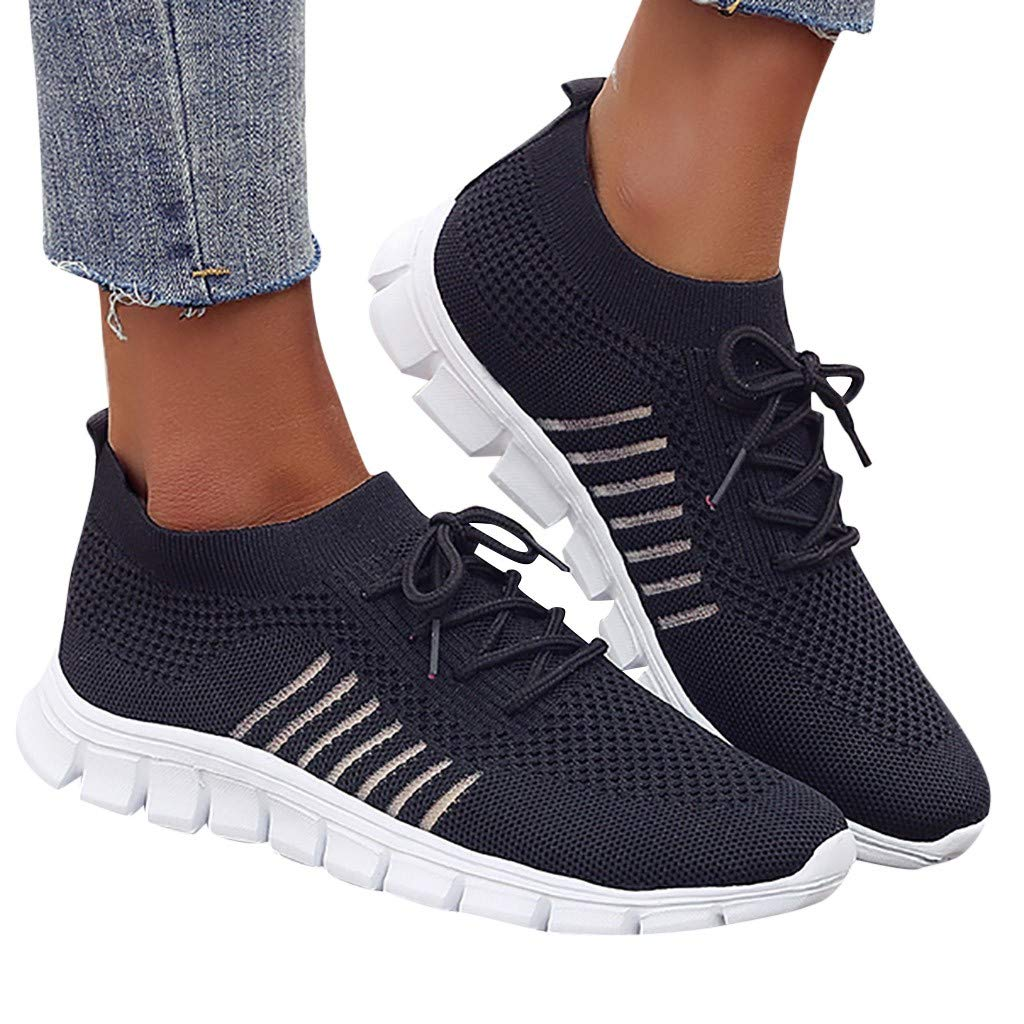 feiXIANG Damen Sportschuhe Turnschuhe Schuhe Freizeitschuhe Student Laufschuhe Gro/ße Gr/ö/ße Bequem Sneaker