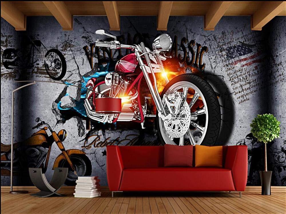 murimage Papier Moto Papier Peint Mural Poster G/éant 3D mur art salon chambre d/écoration de la maison 250cm W H x 175cm -5 Stripes