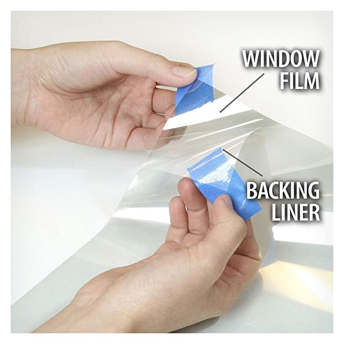 BuydecorativefilmTM BDF S2M Window Film Clear UV Blocking 24 X 25ft