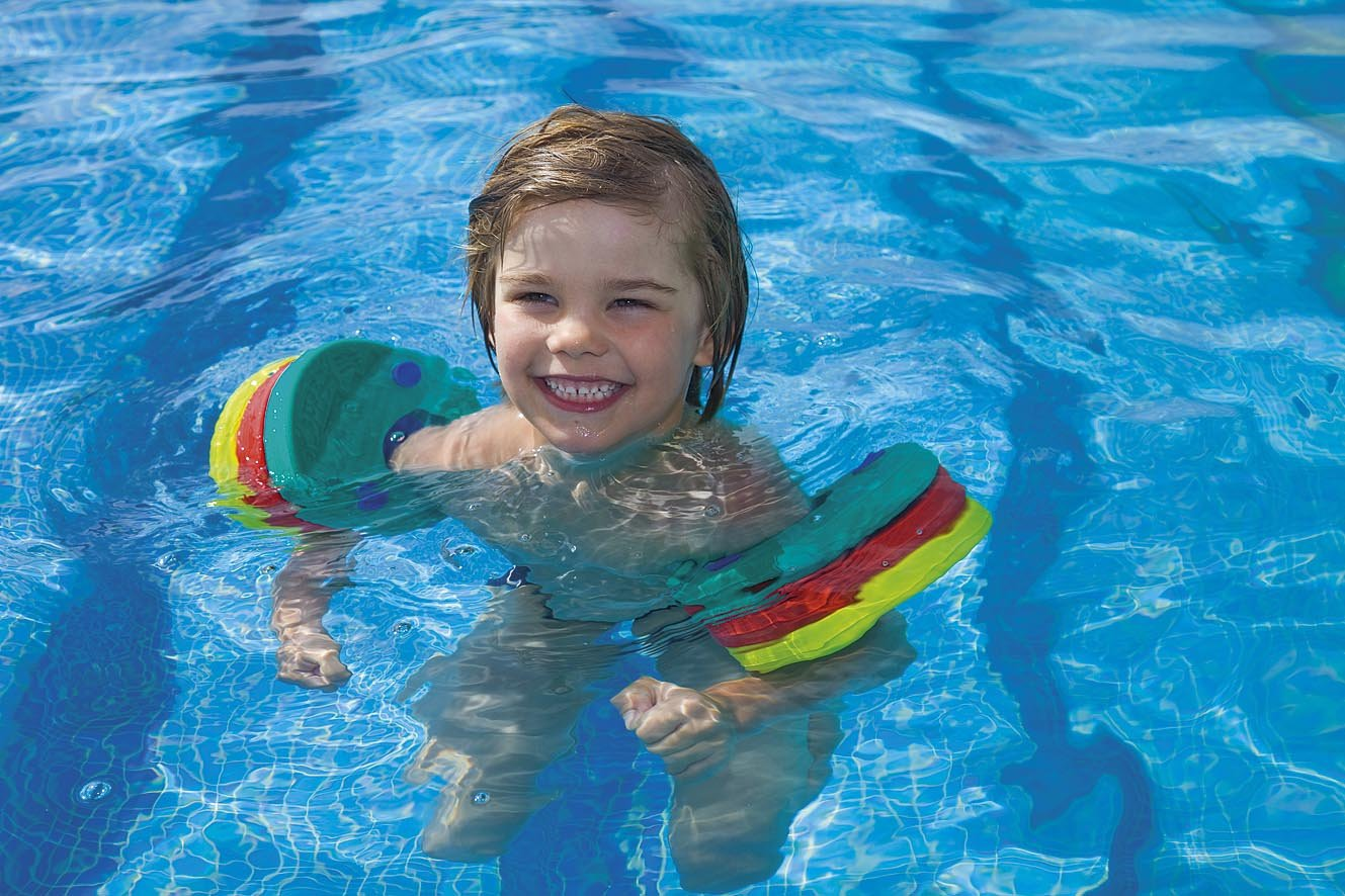 Manguitos para aprender a nadar cholloexperto for Amazon piscinas infantiles