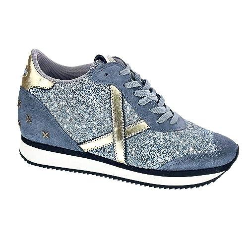 f42b9913405 Munich Heaven 33 - Zapatillas Bota Mujer  Amazon.es  Zapatos y ...