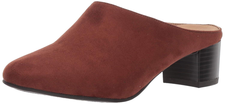 Mid Brown Fabric Aerosoles Women's Lilypad Mule