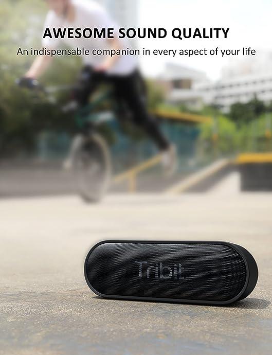 金盒特价 Tribit XSound Go 防水无线蓝牙音箱 7折$23.09 海淘转运到手约¥197