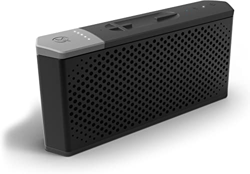 MAQE SOUNDJUMP Aluminum Wireless Bluetooth Speaker with Removable Magnetic 6000mAh Power Bank - Black