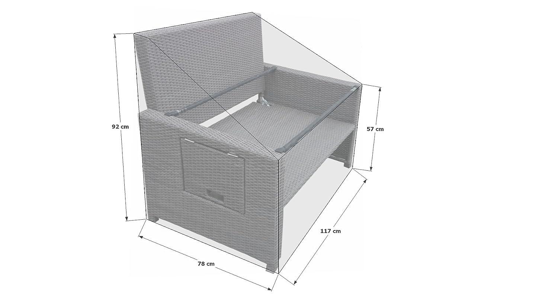 Schutzhülle Plane zu Bahia Lounge Sofa Grau: Amazon.de: Küche & Haushalt