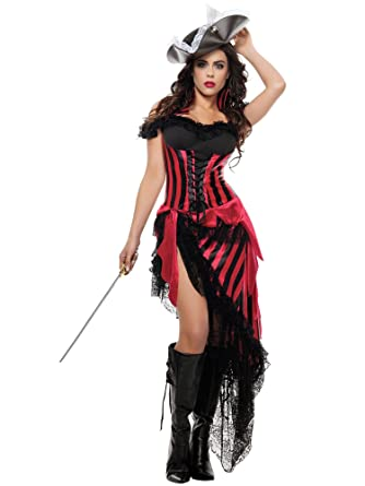 Amazon.com Starline Womenu0027s Black Beardu0027s Beloved Sexy Pirate Costume Set Clothing  sc 1 st  Amazon.com & Amazon.com: Starline Womenu0027s Black Beardu0027s Beloved Sexy Pirate ...