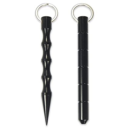 Cevinee Tactical Kubotan Survive Keychain for Women Ladies and Girls - Set  of 2 90263bdc8ded