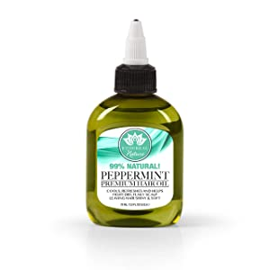 Ethereal Nature Hair Oil Peppermint 75 Ml