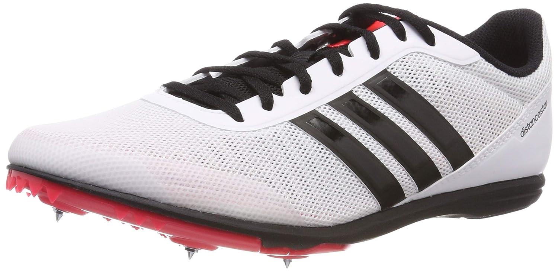Weiß (Ftwr Weiß Core schwarz Shock rot Ftwr Weiß Core schwarz Shock rot) adidas Herren Distancestar Leichtathletikschuhe