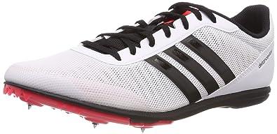 buy popular c4c73 a014e adidas Herren Distancestar Leichtathletikschuhe Weiß FTWR WhiteCore  BlackShock Red, 39 EU