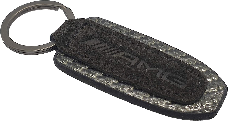 SMD Schl/üsselanh/änger aus 100/% Carbonfaser und Alcantara kompatibel mit AMG