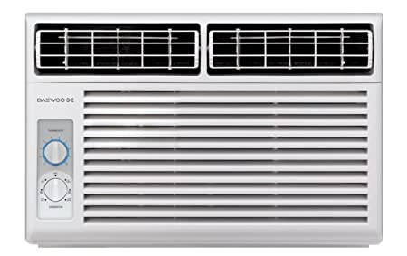 Daewoo 5000 BTU Window-mounted 115V | 60Hz - Mechanical Air ...