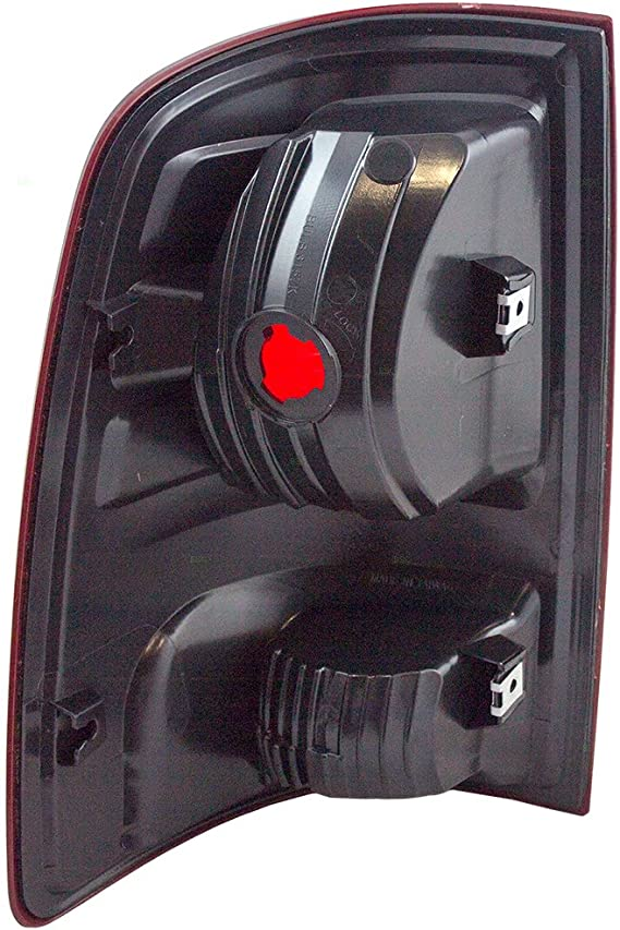 Passengers Taillight Tail Lamp Lens Unit Replacement for 09-10 Dodge Ram /& 11-18 RAM Pickup Truck 55277414AF