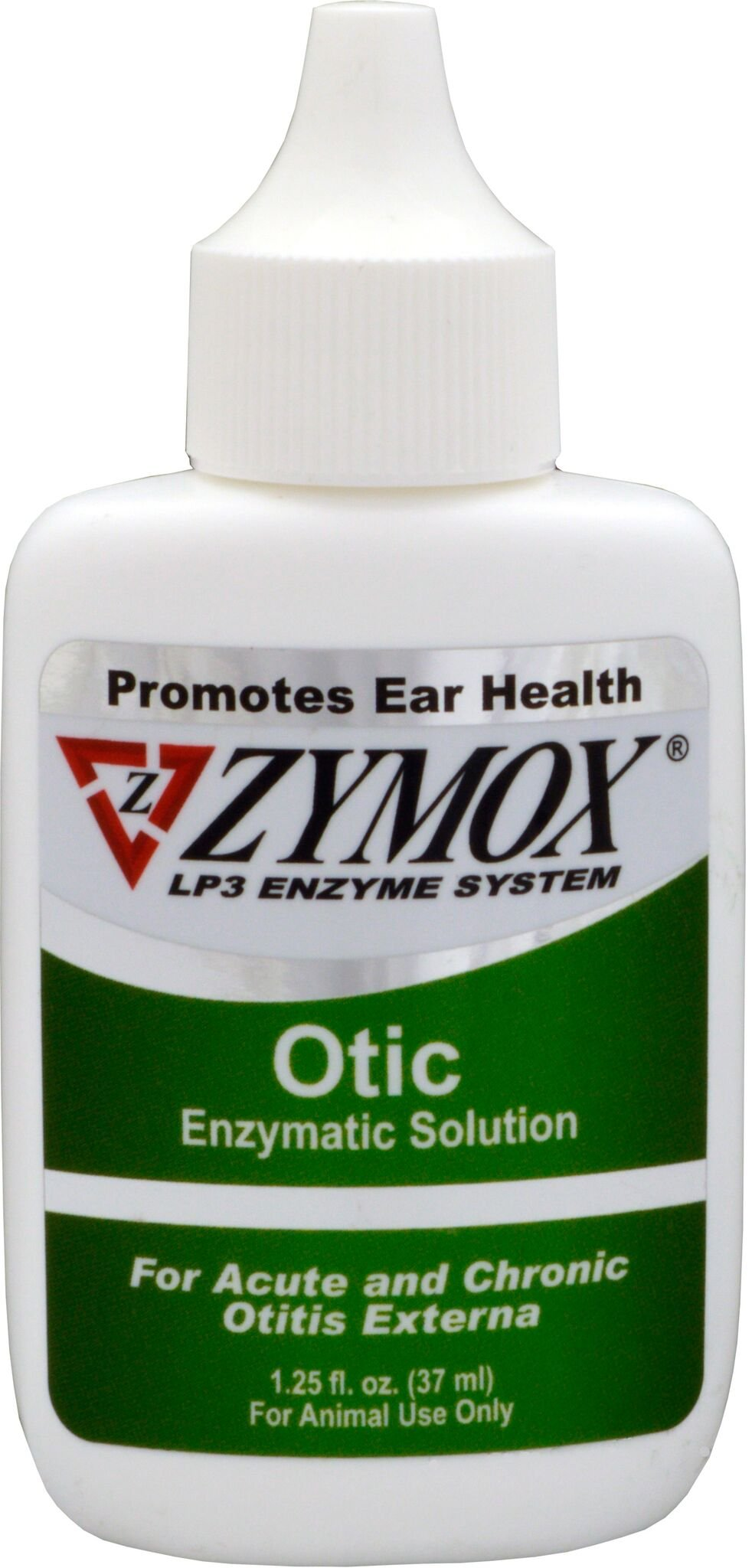 Zymox Otic Pet Ear Treatment without Hydrocortisone, 1-1/4-Ounce