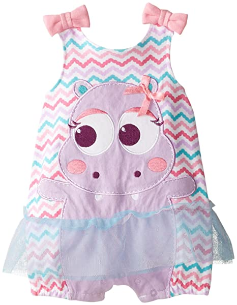 Amazon.com: Nuby Baby-Girls recién nacido Niñas Sun Suit ...