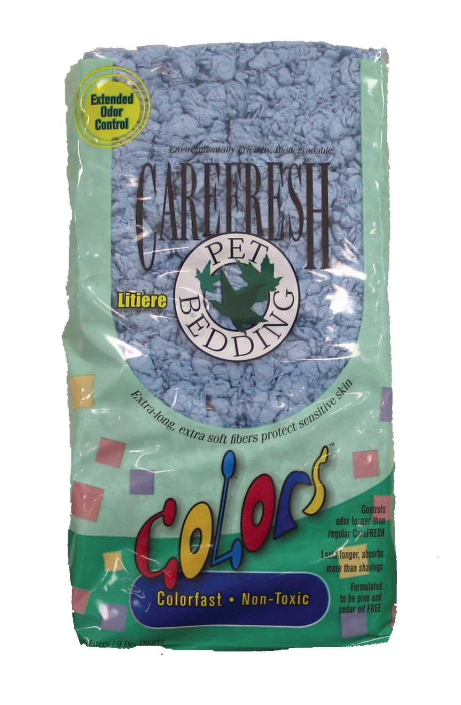 Carefresh colors Pet Bedding bluee 10 Liter