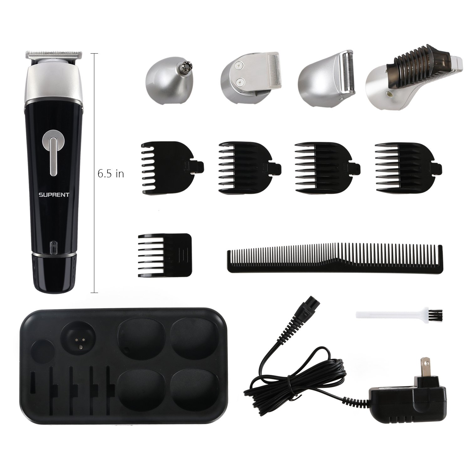 5 In 1 Multi-Functional Groomer Kit Beard Trimmer, Hair Trimmer & Nose Hair Trimmer