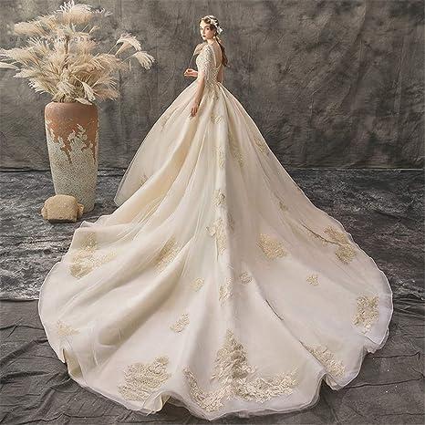 Vestido de Novia Vestido Vestido de Novia Luminoso Vestidos ...