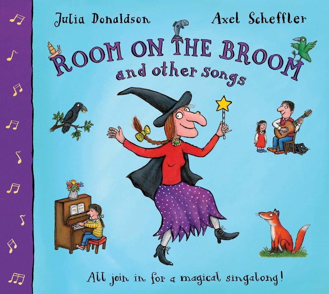 Room on the Broom and Other Songs Book and CD Book & CD: Amazon.es: Donaldson, Julia, Scheffler, Axel: Libros en idiomas extranjeros