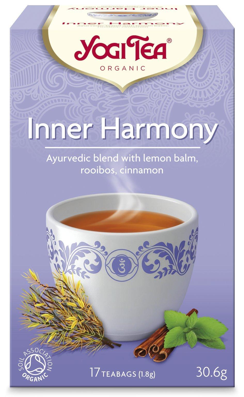 Yogi Tea Organic Inner Harmony, Pack of 17 Teabags, 30.6 g