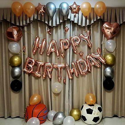 Amazon.com: Globos de fiesta de cumpleaños, 40 pulgadas ...