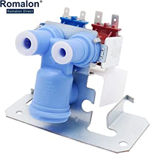 WR57X10051 Dual Inlet Water Valve Fit for GE General Electric Ken.more Refrigerator AP3672839 WR57X98 WR57X111 WR57X10032